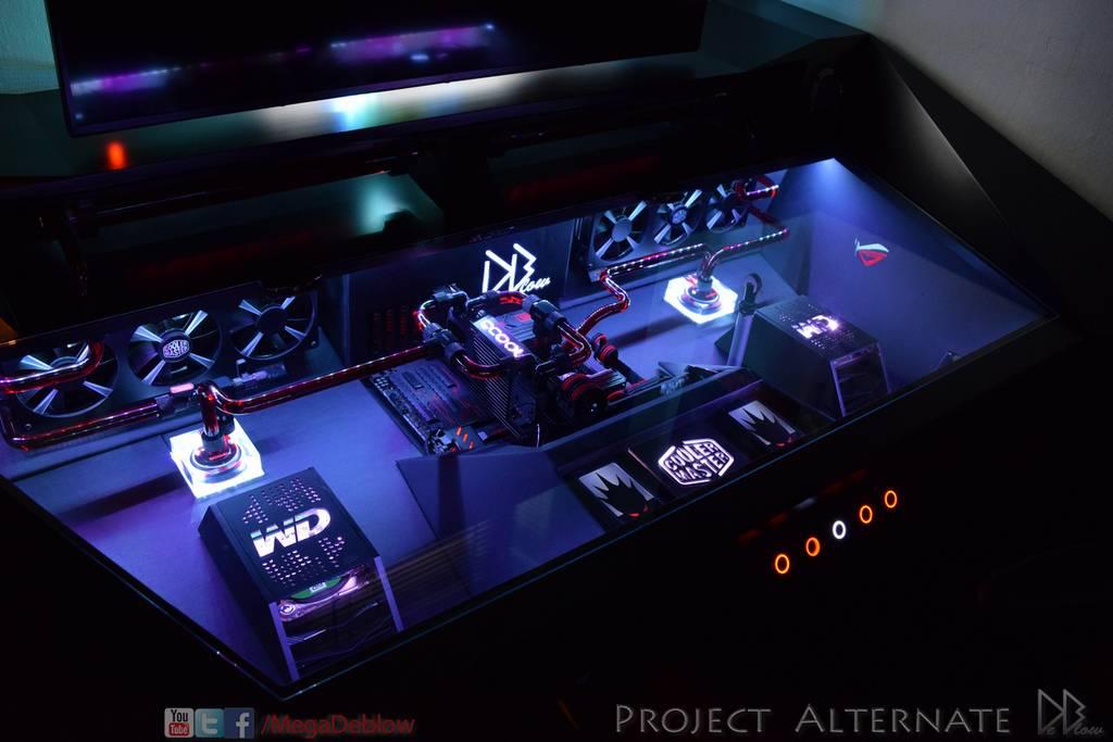 Computers Built Into Desks