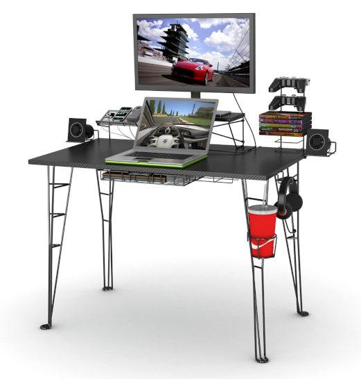 new 2019 best pc gaming desks for gamers computer station nation. Black Bedroom Furniture Sets. Home Design Ideas