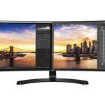 LG Monitor looks like dual screens for working