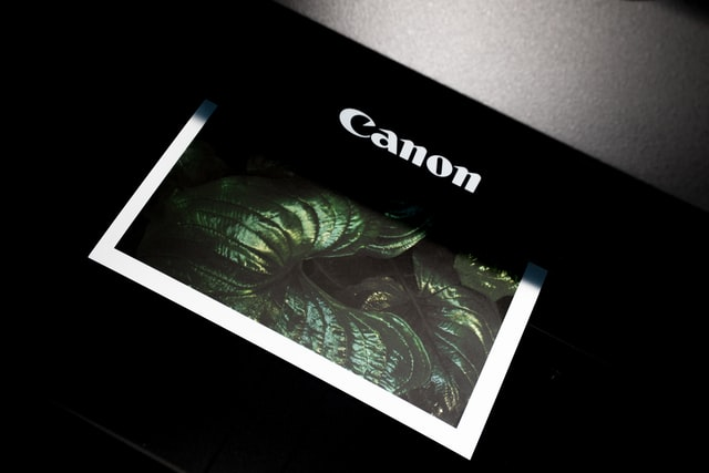 Color Laser Printer Printing a Picture