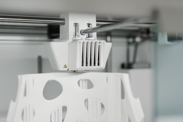 The working mechanism of a printer is shown by taking a close look at its interior